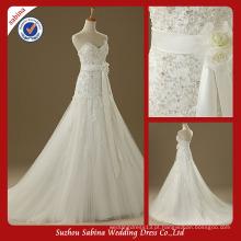 Sh0585 O vestido de noiva novo do casamento real vestido de noiva da indonésia