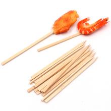 Chinese  Eco-friendly high quality bamboo flat kofta skewers BBQ