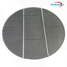 Circle Wedge Wire SS Filtersieb für industrielle Anwendungen