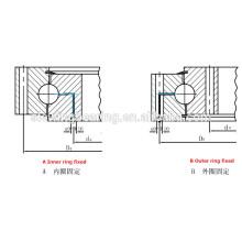 Rolamento de giro de quatro pontos de contato para a máquina de direção