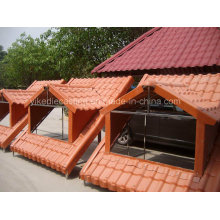 Maneira correta de instalar o painel de telhado de resina sintética