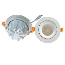 Neues Design 90lm / W 7W / 10W / 15W Einstellbare COB Down Light LED Downlight mit 3 Jahre Garantie