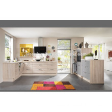 Modern Italian Design Melamine kitchen cabinet directly from China kitchen cabinet factory