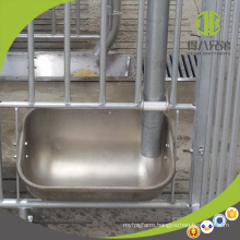 Easy to Clean Stainless Steel Trough for Sow on Farrowing Crate