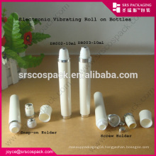 whosale empty roll-on skincare container, white vibration10ml Roll On Bottle for eye cream