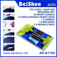 8PCS Мотоцикл / Автомобиль Бескамерная шин прокола прокол Инструмент Инструмент Шины Plug Авто 5 Газа