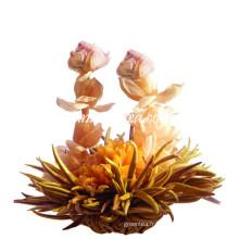 Rose Harmony Chinese Blooming Tea EU Standard