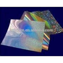 Holographische BOPP-Folie aus Verpackungsmaterial / BOPP-Folie aus Verpackungsmaterial / PET-holographischer Film