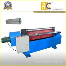 Machine de bobineuse à usinage hydraulique à deux rouleaux en acier