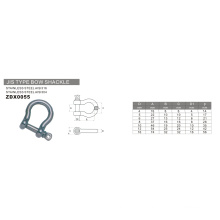 Hardware Stainless Steel JIS Type Bow Shackle