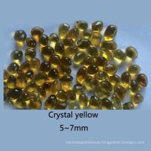 Irreguliar Shape Glass Beads for Decoration