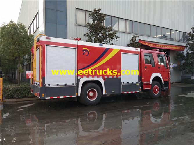 HOWO Fire Rescue Trucks