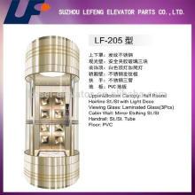 Капсульный лифт для панорамного стеклянного лифта, хороший лимузин для пассажиров