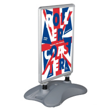 A1 Outdoor Pavement Sign Advertising Sidewalk Snap Frame With Water Base
