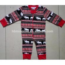 Baby-Weihnachtspyjamas-Familienpyjamaweihnachten des Babys Babypartys 2016 im Säuglings-, Kinder- und Erwachsenengröße