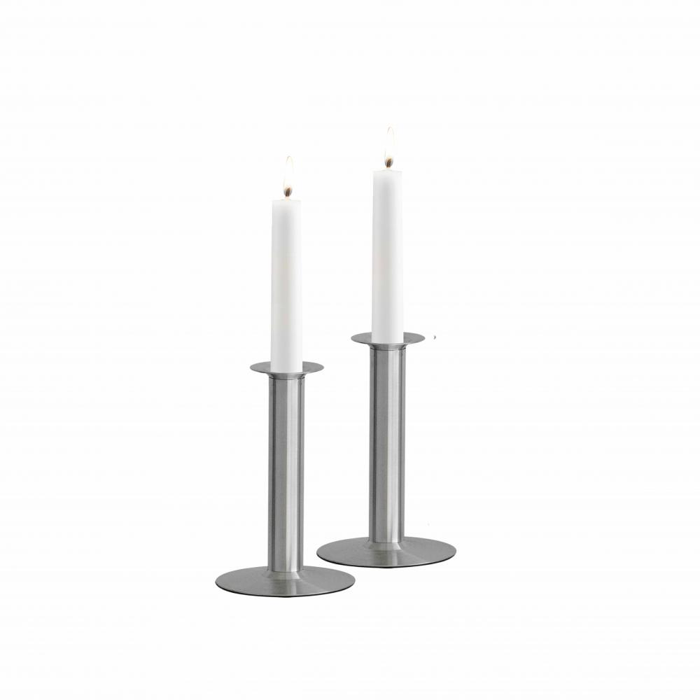 White Candlestick Holders