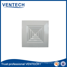 HVAC Systems Ventilation Wall Mounted Aluminium Supply Floor Air Diffuser
