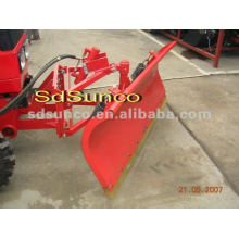 Farm Tractor With Front Dozer Blade