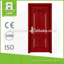 porta popular da madeira maciça do estilo do morden de China
