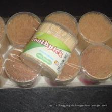 Niedrigster Preis Hochwertiger Bambus für Bambus Zahnstocher