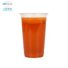 Plastic juice cup
