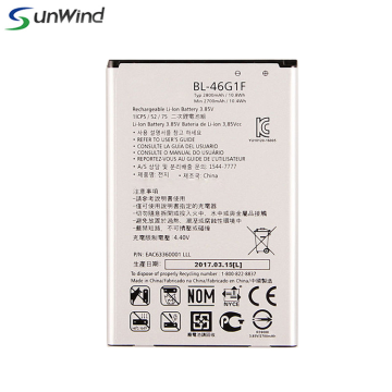 Chargeur LG K425 BL-46G1F