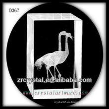 Pájaro grabado al subsuelo K9 3D