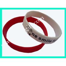 Fashion Silicone Wristband for Gift (m-WB06)