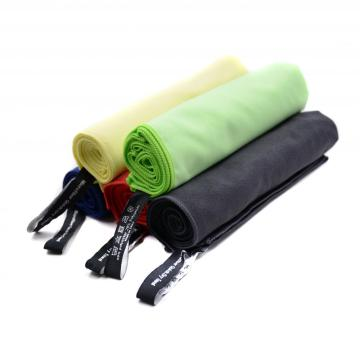 serviette de gymnastique de sport en microfibre multi-couleurs absorbante