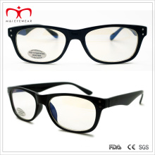 Men′s Anti-Reflective Computer Reader Glasses with Square Frame (WRP410300AR)