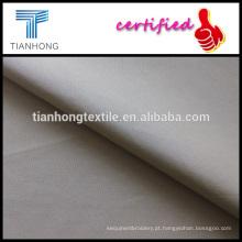 algodão de cor castanha clara 100 suave tocar popeline tecer tecidos para camisa do vestuário