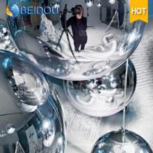 Venta al por mayor Mini espejo decorativo del globo Disco inflable bola del espejo
