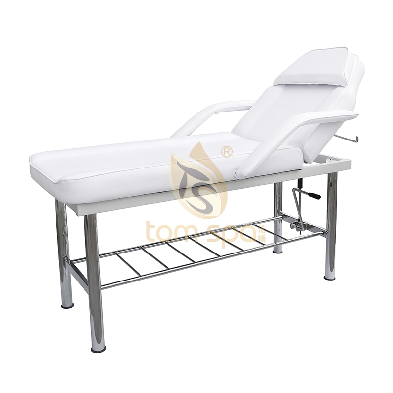 Beauty Facial Bed With Armrest