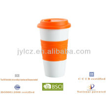 keramische Reise-Großhandelskaffeetasse