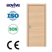 high quality melamine wooden flush door