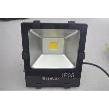 Mit UL DLC TUV CE aufgeführte Fabrik 120lm / w Outdoor LED Flut Licht 50W