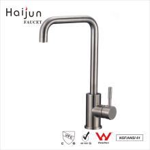 Haijun 2017 Venta al por mayor directa cUpc sola manija de acero inoxidable lavabo grifo