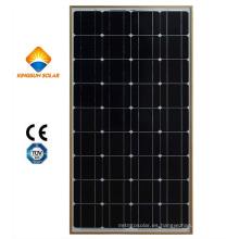 Módulo de energía solar de silicio monocristalino de alto rendimiento de 150W