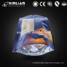 factory price round bottom aluminum foil candy packaging food bag