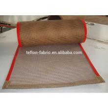 2016 Good performance open mesh belt teflon coated glass mesh conveyor belt for dryer