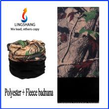 LINGSHANG polyester fleece outdoor sport polar fleece multifunctional bandana