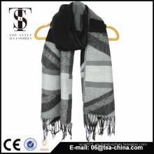 Proveedor de la bufanda del telar jacquar de la manera del diseño de la venta caliente nuevo