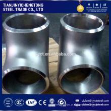 venda quente 316 cotovelo de aço inoxidável 316l programação cotovelo de encaixe de tubulação de aço 80