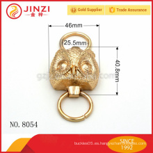 Decoración personalizada de la historieta del búho con el anillo de dos O