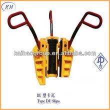 API DU Serie Rotary Slips