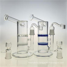 Honeycomb Disc Hookah Glass Water Smoking Pipes to Bubbler (ES-GB-389)