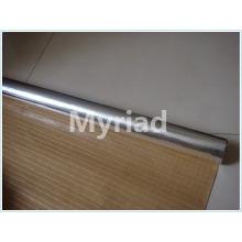 Revêtement thermique Feuille aluminium avec matériau PE Isolant bidirectionnel