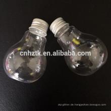 Glühbirne Plastikflasche
