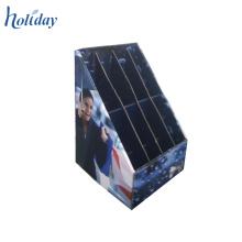 Affichage ondulé de palette de compteur de carton pour le parapluie pliable