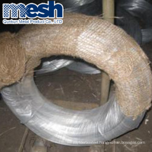 low carbon steel wire 16 gauge hot dipped galvanized wire